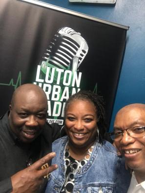 Interviewed about Do Great Exploits on the Lenny T Show at Luton Urban Radio with Lyndon Wissart